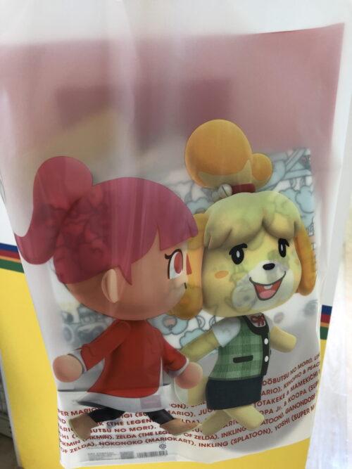 Nintendo TOKYO ビニール袋